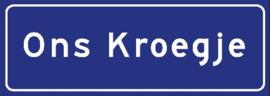 Ons Kroegje (Blauw)