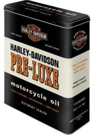Harley Davidson Pre Luxe Bewaarblik.