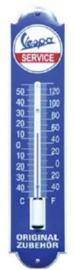 Vespa Logo Thermometer 6,5 x 30 cm.