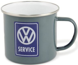VW Service Emaille Drinkmok