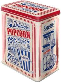 Popcorn Bewaarblik.