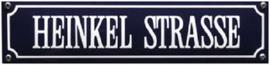 Heinkel Strasse Emaille bordje.