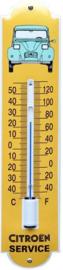 Citroen Service  Thermometer 6,5 x 30 cm