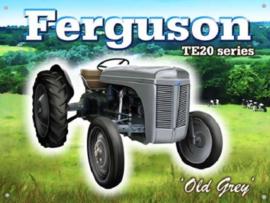 Ferguson TE20 Serie  Metalen wandbord 30 x 40 cm
