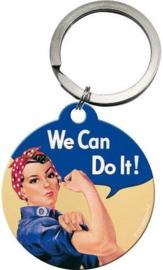 We Can Do It Sleutelhanger