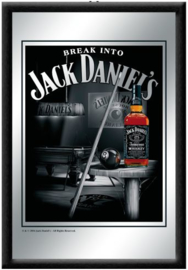 Jack Daniel's Break into Spiegel 22 x 32 cm.