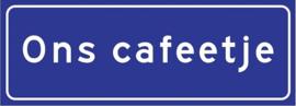 Ons cafeetje (Blauw)