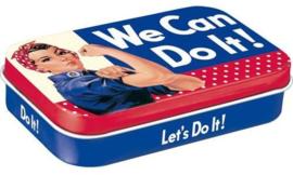 Pepermunt doosje We can do it !.
