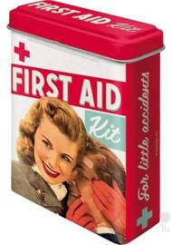 First aid kit Pleisterdoosje.