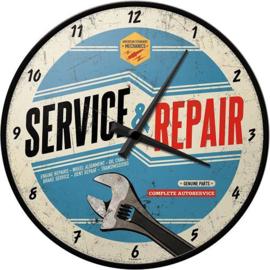 Service & Repair Wandklok 31 cm