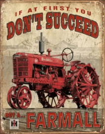 Buy A... Farmall Metalen wandbord 31,5 x 40,5 cm.