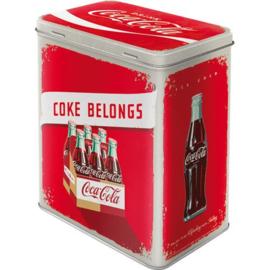 Drink Coca Cola! Bewaarblik .