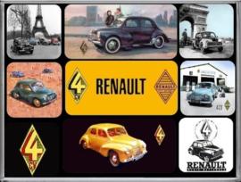 Renault 4CV Magneet set