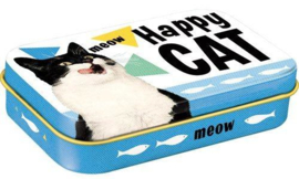 Pet Treat Box Happy Cat