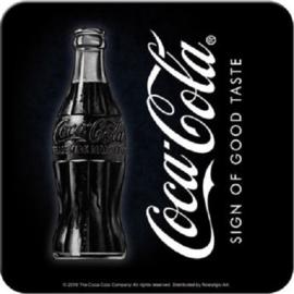 Coca-Cola - Sign Of Good Taste.5 Onderzetters 9 x 9 cm.