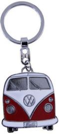 VW T1 Sleutelhanger Rood