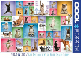 Yoga Dogs Puzzel (1000)