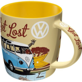 VW Bulli Let's Get Lost Koffiemok.