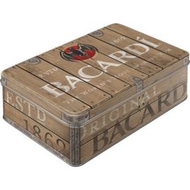Bacardi - Wood Barrel Logo Bewaarblik