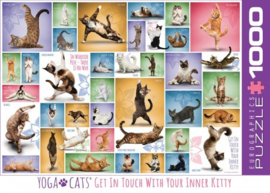 Yoga Cats Puzzel (1000)