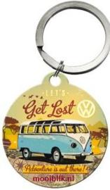 Lets Get Lost VW Sleutelhanger