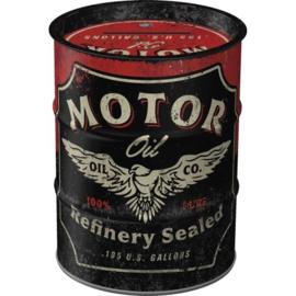 Money Box Oil Barrel Motor Oil