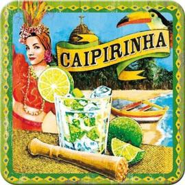 Caipirinha.  Onderzetters 9 x 9 cm.  5 stuks.