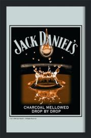 Jack Daniel's Drop By Drop .   Spiegel 22 x 32 cm.