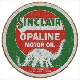 Sinclair Opaline Round Metalen wandbord Ø 30 cm.