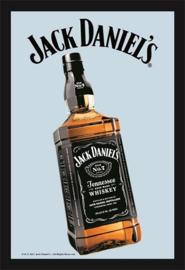 Jack Daniel's Bottle.   Spiegel 22 x 32 cm.