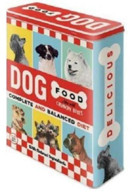 Dog Food Bewaarblik.