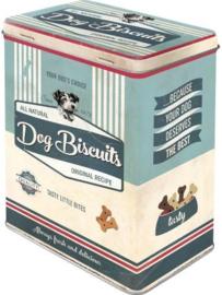Dog Biscuits Bewaarblik.
