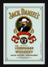 Jack Daniel's Old No 7 Spiegel 22 x 32 cm.