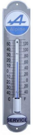 Alpine Service Thermometer 6,5 x 30 cm