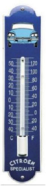 Citroen Secialist  Thermometer 6,5 x 30 cm