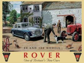 Rover One of Britian's Fine Cars Metalen wandbord 40 x 30 cm