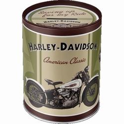 Harley Davidson Knucklehead Spaarpot