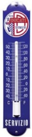 Ducati Servizio 2 blauw Thermometer 6,5 x 30 cm