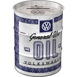 VW / General Use Oil.  Spaarpot oilbarrel.