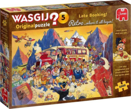 Last-minute Booking! (1000) Wasgij Retro Original 5