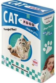 Cat Food Bewaarblik
