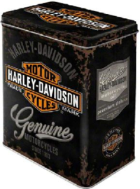 Harley Davidson Motor Cycles Genuine  Bewaarblijk.
