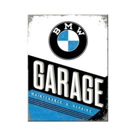 BMW Garage. Koelkastmagneet 8 cm x 6 cm.