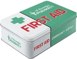 First Aid Emergency Supply  Green Bewaarblik.