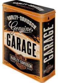 Harley Davidson Genuine  Garage Voorraadblik.