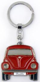 VW Kever Sleutelhanger Rood.