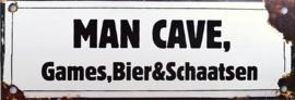 Man Cave Games Bier & Schaatsen.