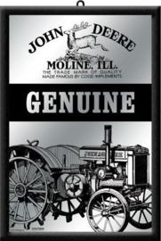 John Deere Genuine Spiegel 22 cm x 32 cm