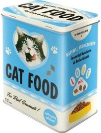 Cat Food Bewaarblik.