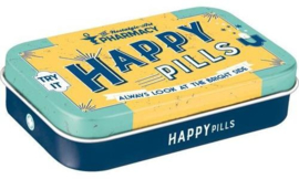 Pepermunt doosje Happy Pills.